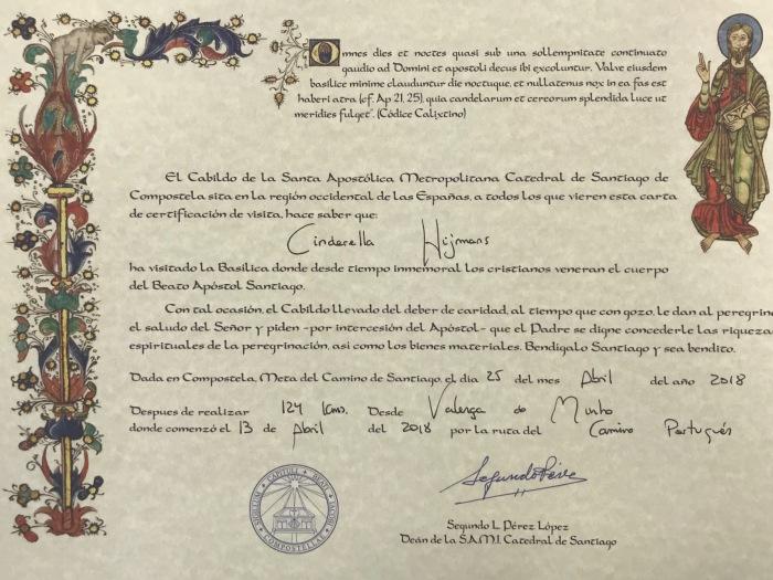 Km certificate